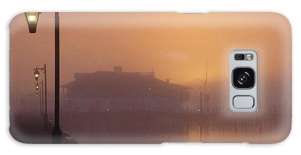 Foggy Sunrise Galaxy Case by Robert Henne