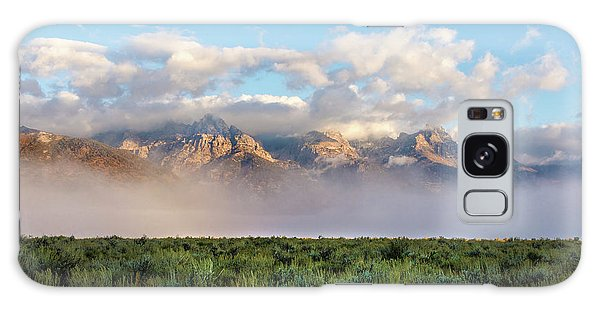 Teton Galaxy Case - Foggy Teton Sunrise - Grand Tetons National Park Wyoming by Brian Harig