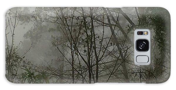 Foggy Woods Photo  Galaxy Case