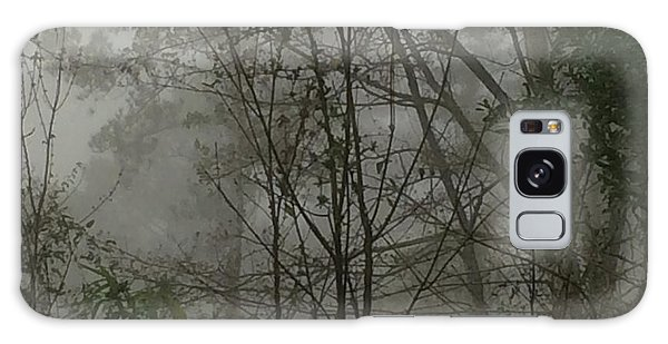 Foggy Woods Photo  Galaxy Case