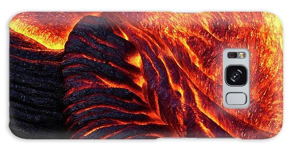 Pele Galaxy Case - Folding Lava by Christopher Johnson