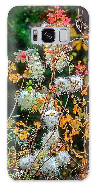 Foliage Twisted Colored Leaves Galaxy Case