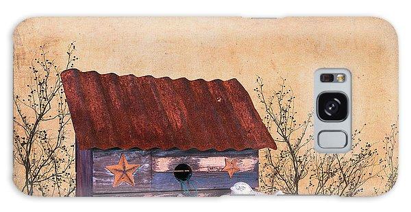 Limb Galaxy Case - Folk Art Birdhouse Still Life by Tom Mc Nemar
