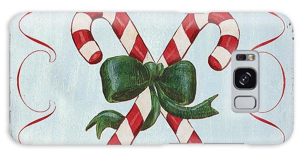 Holiday Galaxy Case - Folk Candy Cane by Debbie DeWitt