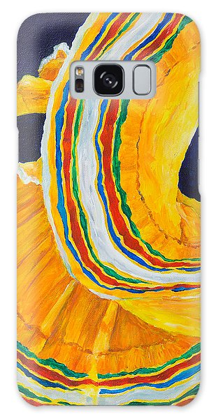 Folklorica In Yellow Galaxy Case