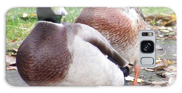 Quack..quack, Follow Me And I Follow You Later. Galaxy Case