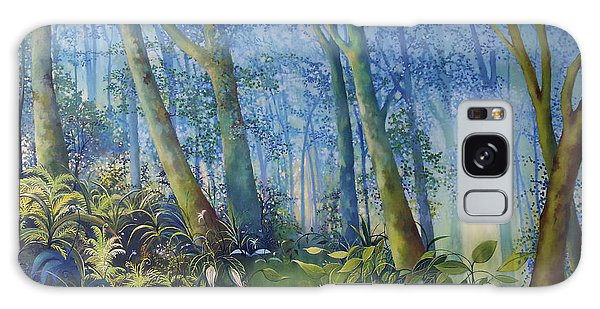 Follow Me Oil Painting Of A Magic Forest Galaxy Case