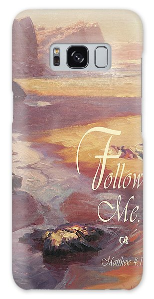 Spirituality Galaxy Case - Follow Me by Steve Henderson