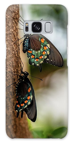 Galaxy Case featuring the photograph Follow The Leader by Cindy Lark Hartman
