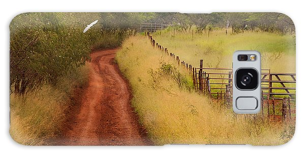 Follow The Red Dirt Road Galaxy Case