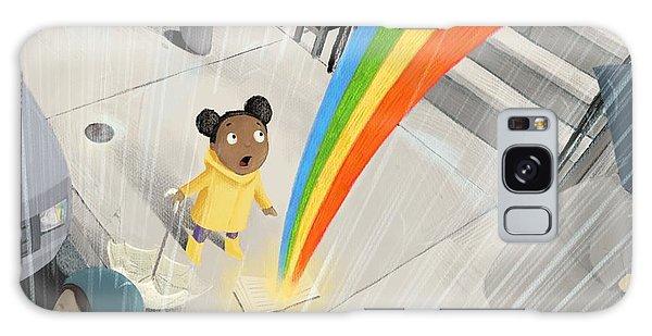 Follow Your Rainbow Galaxy Case
