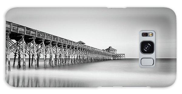 Pier Galaxy Case - Folly Beach Pier by Ivo Kerssemakers