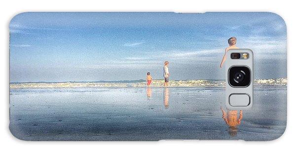 Folly Beach Reflections Galaxy Case