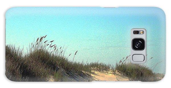 Folly Beach Sc Dunes Galaxy Case
