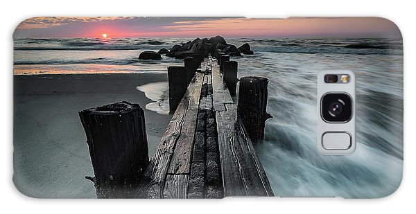 Folly Beach Tale Of Two Sides Galaxy Case