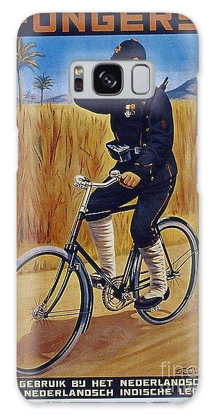 Fongers In Gebruik Bil Nederlandsche En Nederlndsch Indische Leger Vintage Cycle Poster Galaxy Case by R Muirhead Art