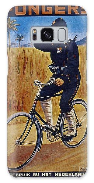 Fongers In Gebruik Bil Nederlandsche En Nederlndsch Indische Leger Vintage Cycle Poster Galaxy Case