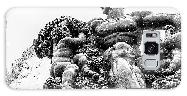 Fontana Di Piazza Solferino-1 Galaxy Case by Sonny Marcyan
