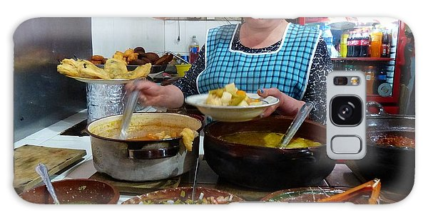 Food Court In Paracho Galaxy Case