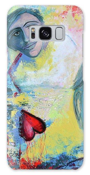 Foolish Love Galaxy Case by Donna Blackhall