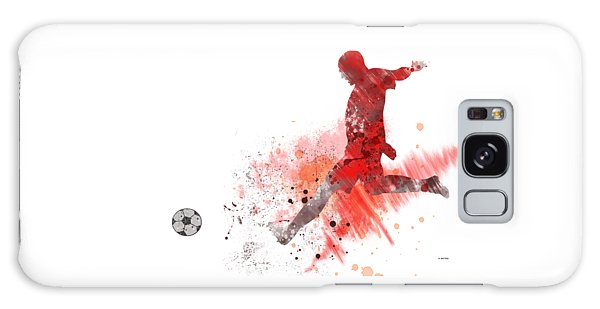 Football Player Galaxy Case