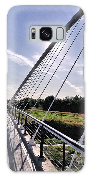 Footbridge 1 Galaxy Case