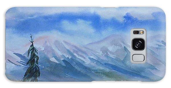 Foothills Galaxy Case by Anna  Duyunova