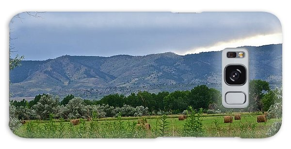 Foothills Of Fort Collins Galaxy Case
