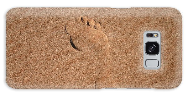 Footprint In The Sand Galaxy Case
