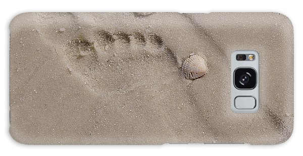 Footprints In The Sand Galaxy Case