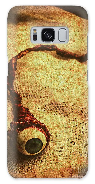 Body Parts Galaxy Case - For A Bandaged Iris by Jorgo Photography - Wall Art Gallery