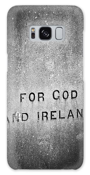 For God And Ireland Macroom Ireland Galaxy Case