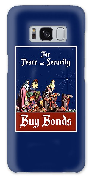 Camel Galaxy S8 Case - For Peace And Security - Buy Bonds by War Is Hell Store