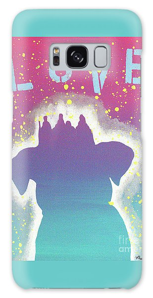 For The Love Of Pups Galaxy Case by Melissa Goodrich