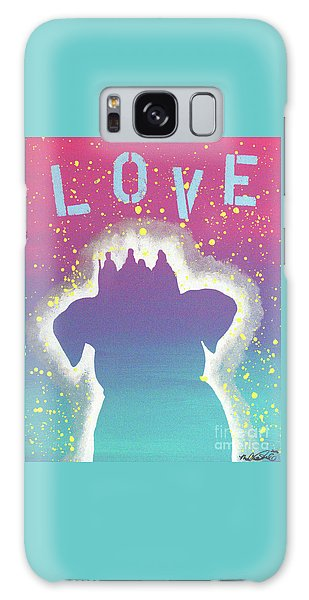 For The Love Of Pups Galaxy Case