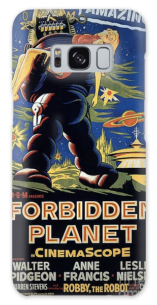 Forbidden Planet Amazing Poster Galaxy Case