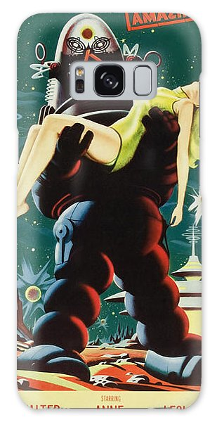 Forbidden Planet In Cinemascope Retro Classic Movie Poster Portraite Galaxy Case