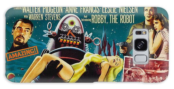 Forbidden Planet In Cinemascope Retro Classic Movie Poster Galaxy Case