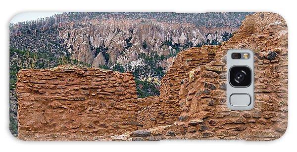 Forbidding Cliffs Galaxy Case by Alan Toepfer