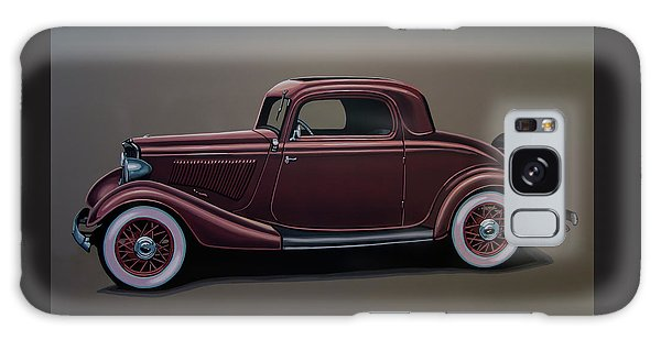 Falcon Galaxy S8 Case - Ford 3 Window Coupe 1933 Painting by Paul Meijering