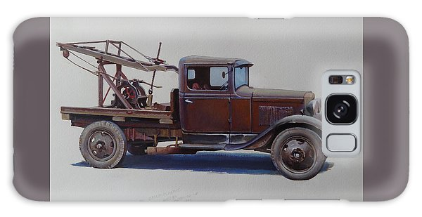 Ford A Type Wrecker. Galaxy Case by Mike  Jeffries