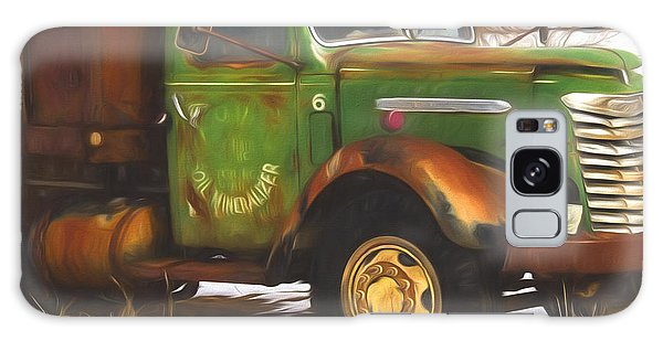 Fashion Plate Galaxy Case - Ford Farm Truck Painterly Impressions by Nick Gray