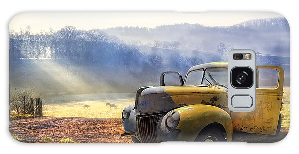 Dawn Galaxy Case - Ford In The Fog by Debra and Dave Vanderlaan