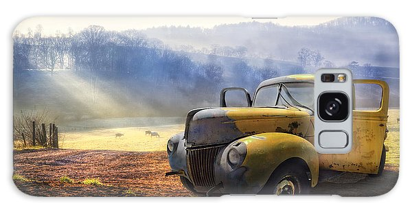Truck Galaxy S8 Case - Ford In The Fog by Debra and Dave Vanderlaan