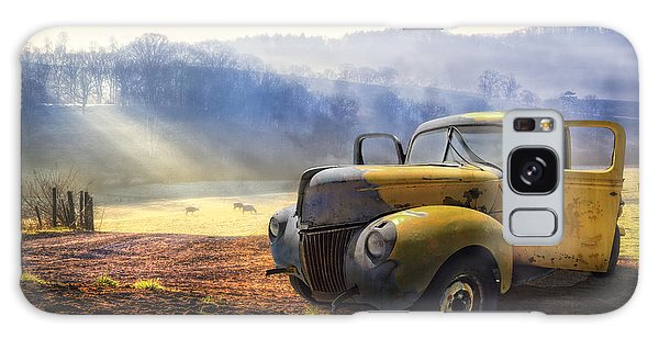 Ford In The Fog Galaxy Case by Debra and Dave Vanderlaan