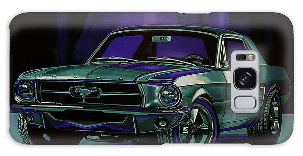 Motor Galaxy Case - Ford Mustang 1967 Painting by Paul Meijering