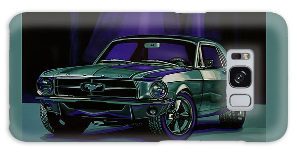Coupe Galaxy Case - Ford Mustang 1967 Painting by Paul Meijering