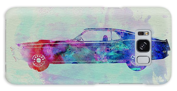 Automobile Galaxy S8 Case - Ford Mustang Watercolor 1 by Naxart Studio