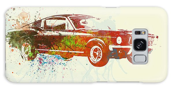 Automobile Galaxy S8 Case - Ford Mustang Watercolor by Naxart Studio