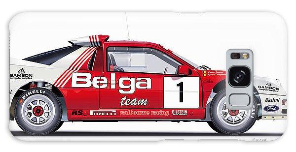 Ford Rs 200 Belga Team Illustration Galaxy Case